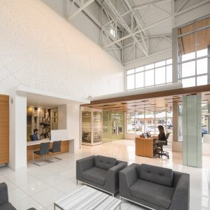 Island Savings Credit Union branch design