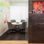 commercial interior design for financial service retail branch design