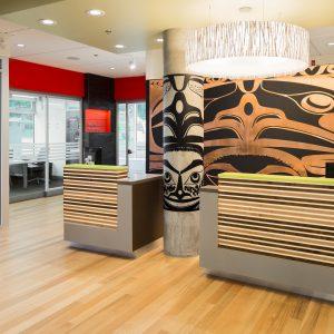 Ratio designed Vancity Mount Tolmie Branch