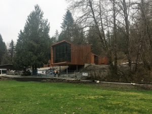 Photo of Ratio designed Kanaka Creek Watershed Stewardship Centre opening soon