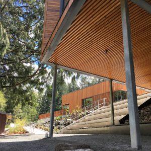 Kanaka Creek Watershed Stewardship Centre view