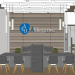 design drawing for Aldergrove Credit Union new Mission branch